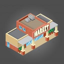 система безопасности для крытого рынка